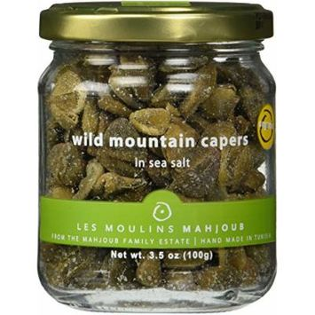 Les Moulins Mahjoub Wild Mountain Capers In Sea Salt
