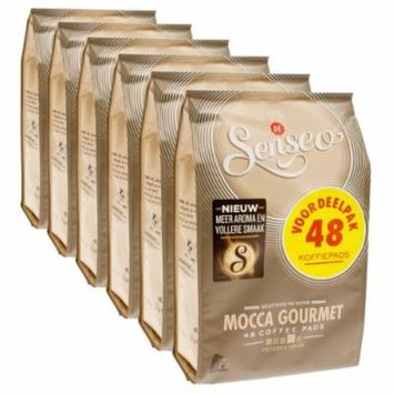 Senseo Mocca Gourmet, New Design, Pack of 6, 6 x 48 Coffee Pods