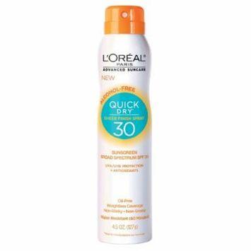 L'Oréal Paris Alcohol Free Quick Dry Sheer Finish Sun Screen Spray SPF 30