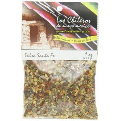 Los Chileros Salsa Santa Fe Mix (Red & Green), 1-Ounce Packages (Pack of 12)