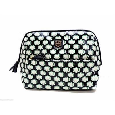 Tommy Hilfiger Dome Cosmetic Bag Case Multi Blue Makeup Bag Travel Pouch