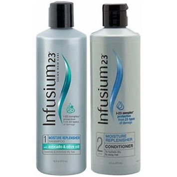 Infusium 23 Moisture Replenisher, DUO Set Shampoo + Conditioner, 16 Ounce, 1 Each