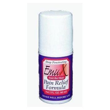 Purple Emu Emu-X Pain Relief Analgesic Roll On With Emu Oil 2 oz. Bottle