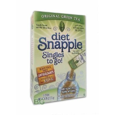 Snapple Diet Singles to go! Green Tea