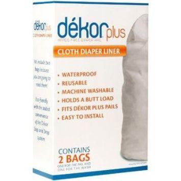 Diaper Dekor Cloth Diaper Pail Liner - 2 Pk