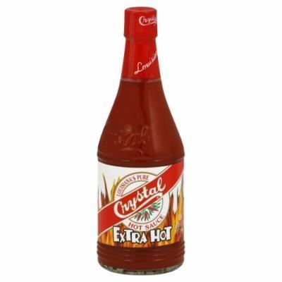 Crystal Louisiana's Hot Sauce Extra Hot
