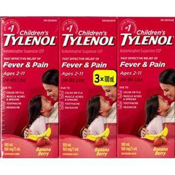 Tylenol® Children's Banana Berry Oral Suspension