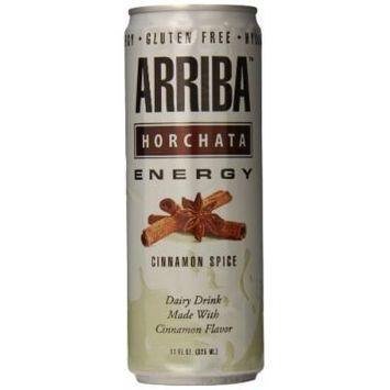 Arriba Horchata Original Energy Drink, 11 Ounce (Pack of 12)