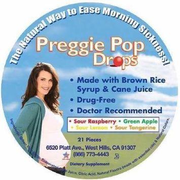 Preggie Pops All Natural Morning Sickness Drops 21 ea
