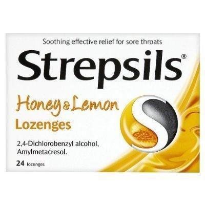 Strepsils Honey & Lemon 36 Lozenges