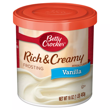 Rich And Creamy Frosting Vanilla