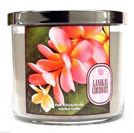 Bath & Body Works® Lanikai Coconut 3-Wick Scented Candles