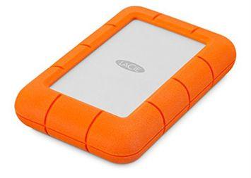 Lacie Rugged Mini External Hard Drive, 1TB