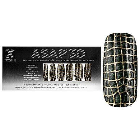 Formula X For Sephora ASAP 3D Nail Appliques Second Skin