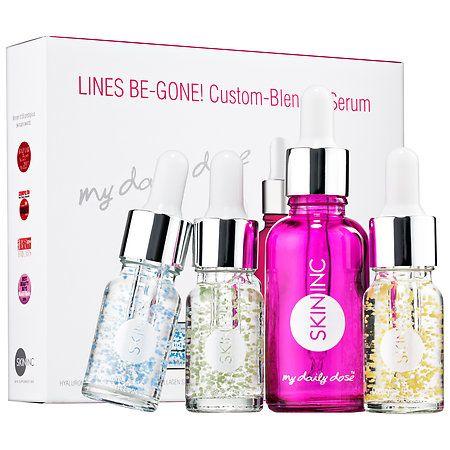Skin Inc. Lines Be-Gone! Custom-Blended Serum