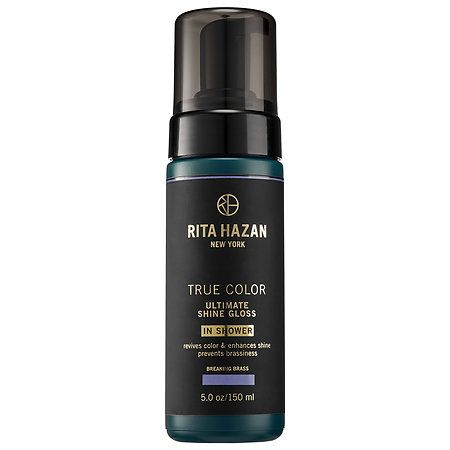 Rita Hazan Ultimate Shine Gloss Breaking Brass 5 oz