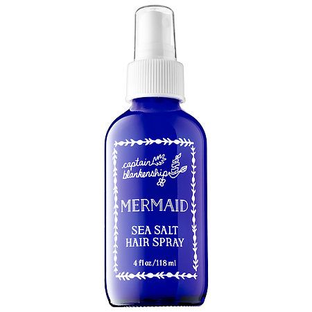 Captain Blankenship Mermaid Sea Salt Hair Spray 4 oz