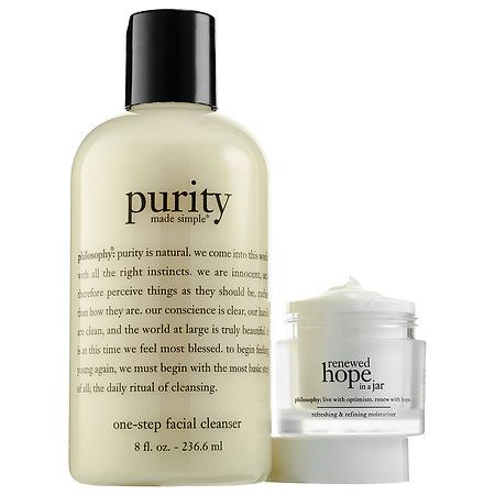 philosophy Purity + Renewed Hope In A Jar Duo