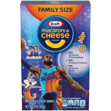 Kraft Space Jam Macaroni and Cheese