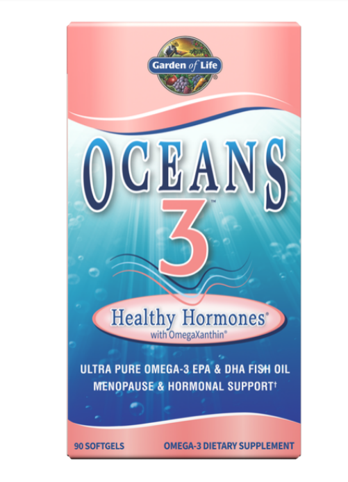 Garden Of Life Oceans MOM Prenatal DHA Omega-3 350 mg 30 Softgels