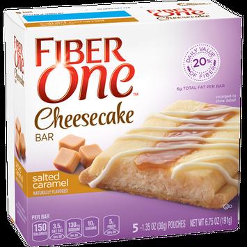 Fiber One Salted Caramel Cheesecake Bar
