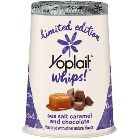 Yoplait® Whips!® Sea Salt Caramel And Chocolate Yogurt Mousse