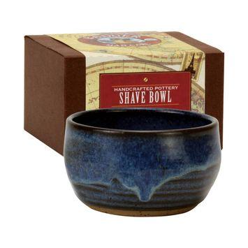 Badger Balm Handmade Pottery Shaving Bowl