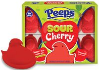 Peeps Sour Cherry Flavored Marshmallow Chick
