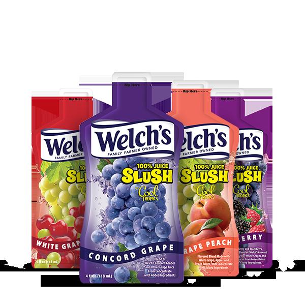 Welch's® 100% Juice Slush Pouch