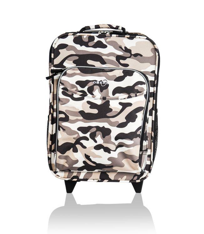 O3 USA O3 Kids Camo Luggage With Integrated Cooler