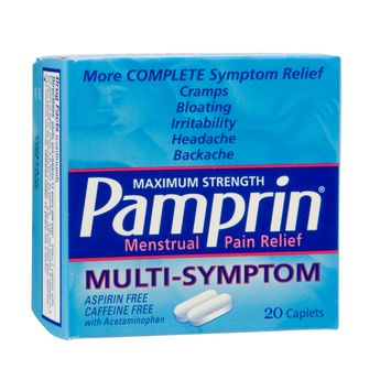 Pamprin Multi Symptom Menstrual Relief 20 Count - CHATTEM, INC.