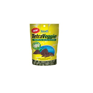 Tetra TetraVeggie eXtreme Algae Wafers Fish Food 2.12-oz