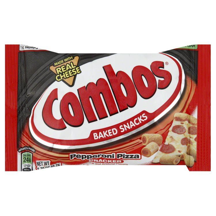 Combos Baked Snacks, Pepperoni Pizza Cracker, 7 oz (198.5 g)