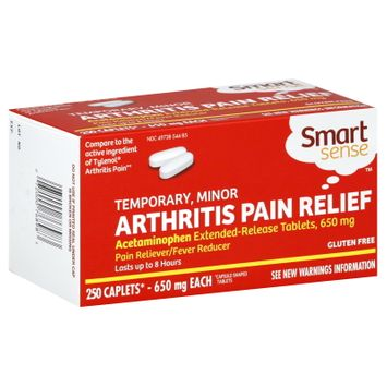 Smart Sense Arthritis Pain Relief, Temporary, Minor Arthritis, 650 mg, 250 Tablets - KMART CORPORATION