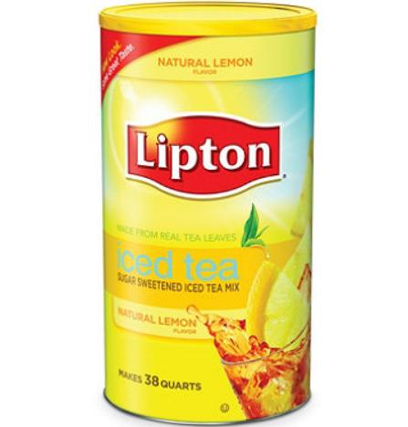 Lipton® Lemon Iced Tea with Sugar Mix