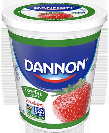 Dannon® Classics Lowfat Yogurt Strawberry Quarts
