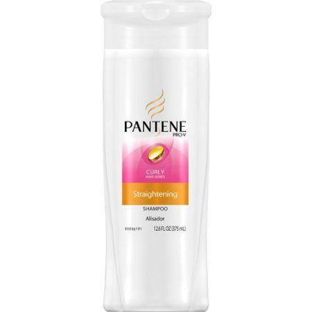Pantene Pro-V Curly Hair Series Straightening Shampoo