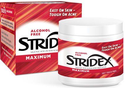 Stridex Maximum Pads