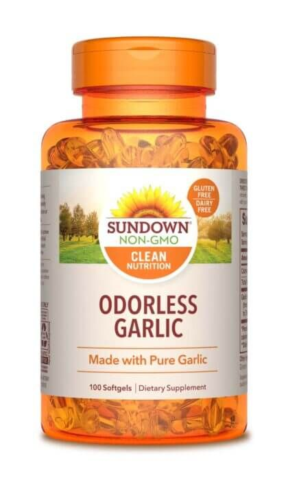 Sundown Naturals Garlic Odorless Softgels