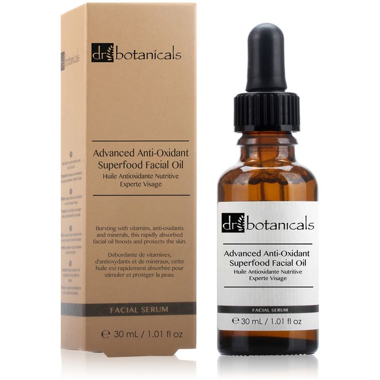Dr Botanicals Advanced Anti-Oxidant Superfood Facial Oil