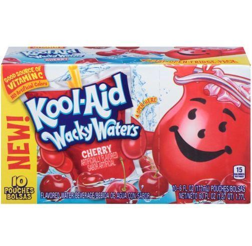 Kool-Aid Wacky Waters Cherry Flavored Water Beverage