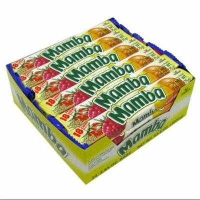 Mamba Variety 18 Fruit Chews 24 pack (2.65 oz per pack) (Pack of 2)