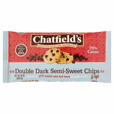 Chatfields Choc Chip Dbl Drk Semi Sw,10 Oz (Pack Of 12)