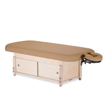Earthlite Sedona Stationary Table with Cabinet Color: Desert Sand