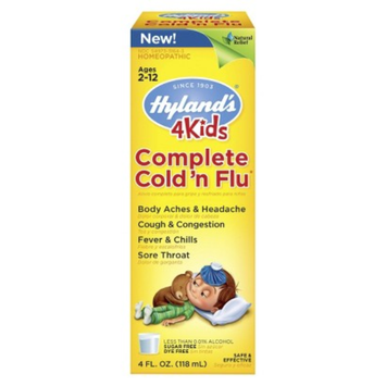 Hylands Hyland's Complete Cold and Flu Relief for Kids - 4 oz