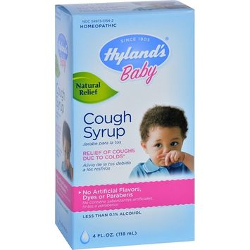 Hyland's Baby Cough Syrup -- 4 fl oz