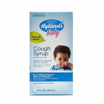 Hyland's Baby Natural Cough and Cold Relief Cough Syrup 4oz Each