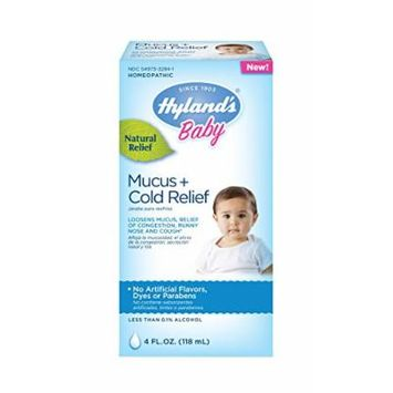 Hyland's Baby Mucus Plus Cold Relief Medicine