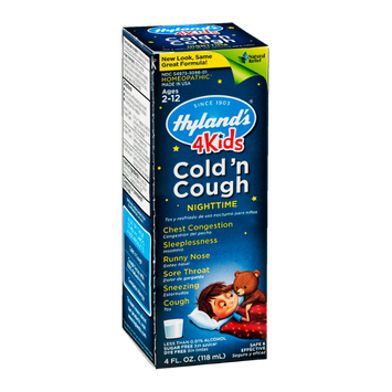 Hyland's 4 Kids Cold 'n Cough Nighttime Ages 2 - 12