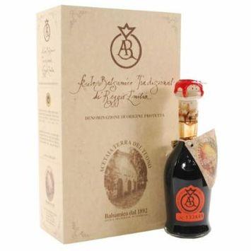 Balsamic Vinegar Of Reggio Emilia Red Seal - Over 25 Years Old - 1 x 3.5 fl oz (100 ml)
